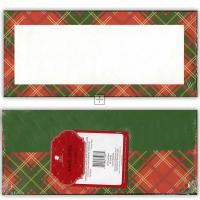 Country Plaid #10 Envelopes - 25 Count