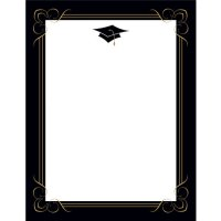 Scroll & Flourish Letterhead - 80 Count