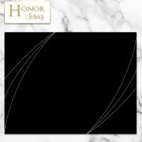 Honor Series - Petal Touch Modern Black Cover - 5 Count