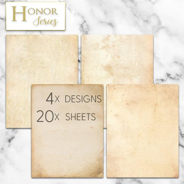 Honor Series - Rustic Antique *NEW [DP2019006] : Designer Papers |  decorative printer paper | Printable Paper | Christmas stationery