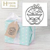 Honor Series - Delicate Touch Silver Baby Seals - 25 Count