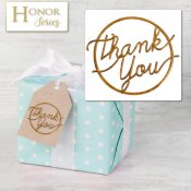 Honor Series - Delicate Touch Copper Thank You Seals - 25 Count