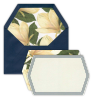 White Floral Note Cards - 12 Count