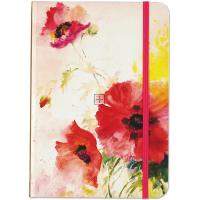 Watercolor Poppies Journal