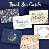 Blush Floral Thank You Set - 36 Count - *NEW