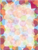 Dots 2-Sided Letterhead - 40 Count