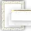 Festive Words Gold Foil LH and Envelope - 40 Count