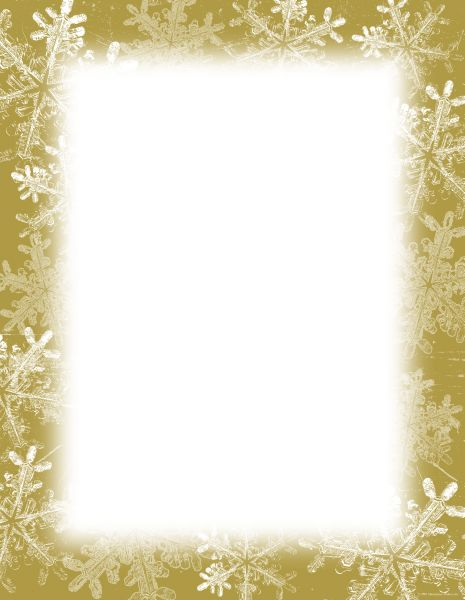 Frosted Holiday Wishes Letterhead - 250 Count