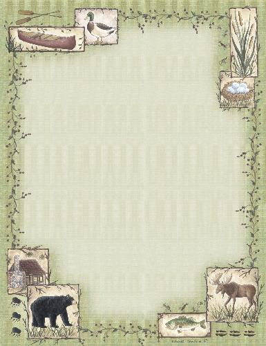 Great Outdoors Letterhead - 25 Count