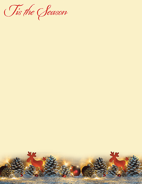 'Tis The Season Letterhead