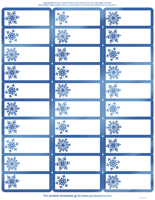 picture relating to Printable Christmas Address Labels named Blue Foil Snowflake Go over Labels Fresh new - 120 Depend [dp2018029] : Designer Papers ornamental printer paper Printable Paper Xmas stationery
