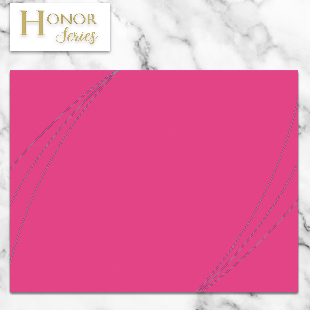 Honor Series - Petal Touch Pink Cover - 5 Count