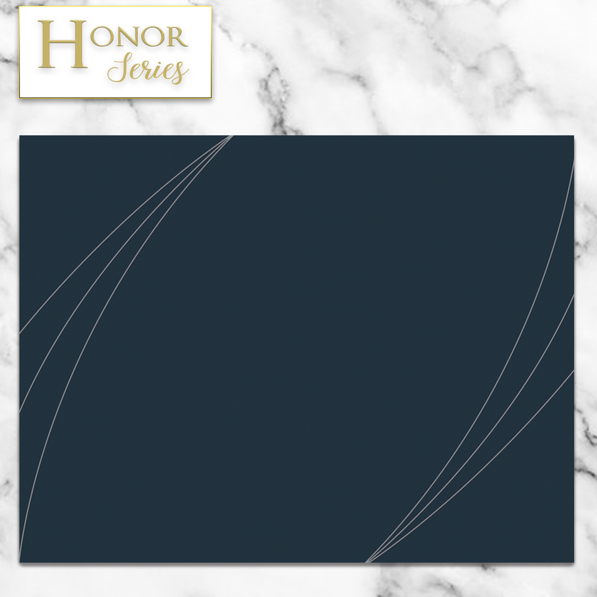 Honor Series - Petal Touch Midnight Blue Cover - 5 Count