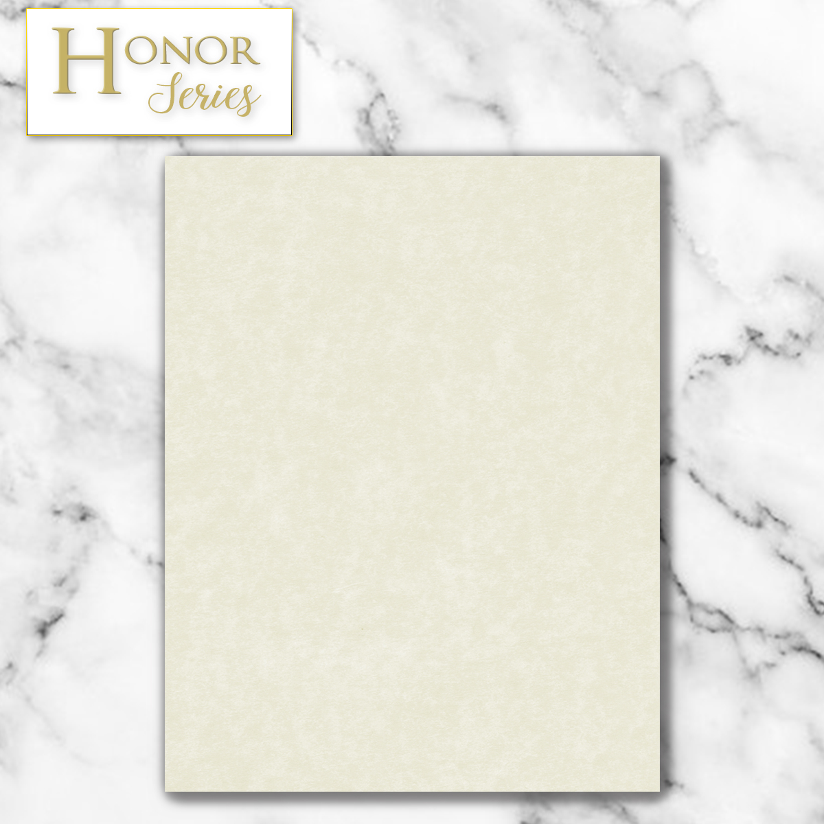 Honor Series - Ivory Parchment - 100 Count