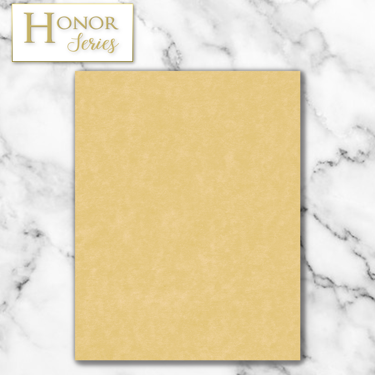 Honor Series - Gold Parchment - 100 Count