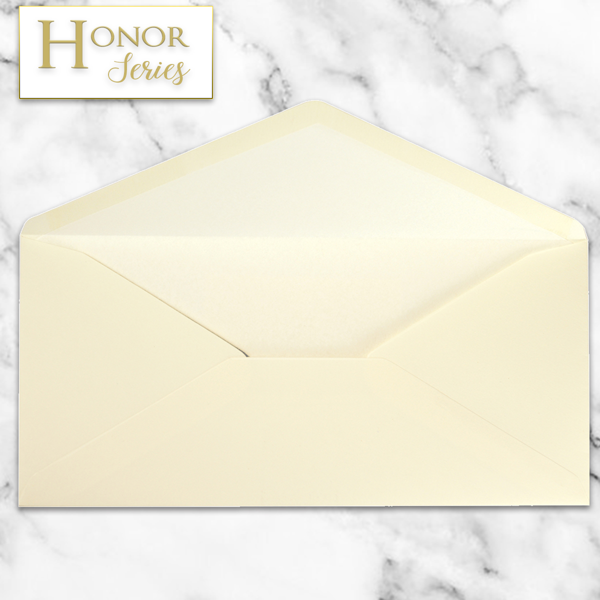 Honor Series - Light Creme DL Envelope - 25 Ct