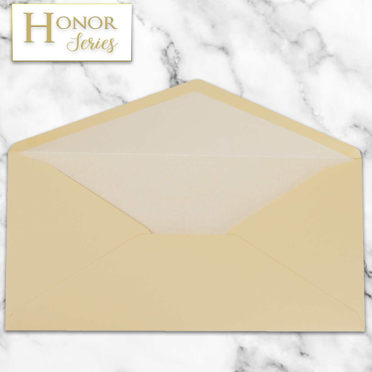 Honor Series - Camel Latte DL Envelope - 25 Ct