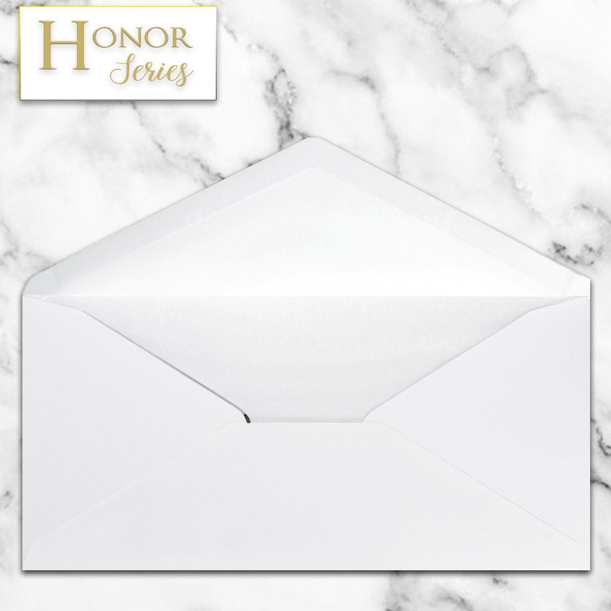 Honor Series - White DL Envelope - 25 Ct