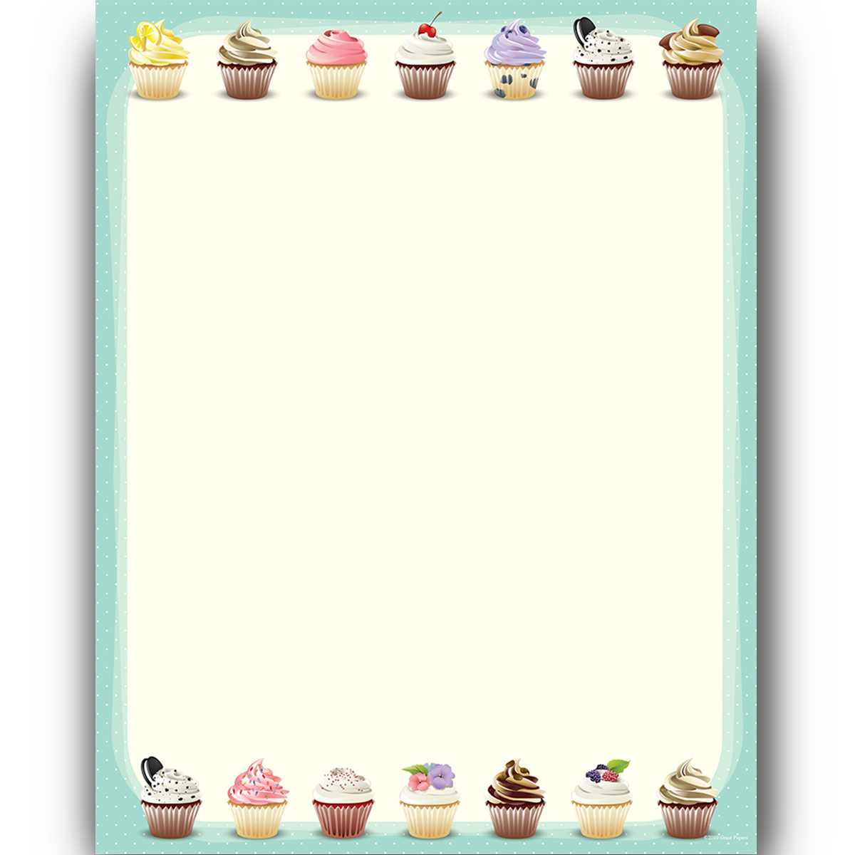 Iced Cupcakes *NEW
