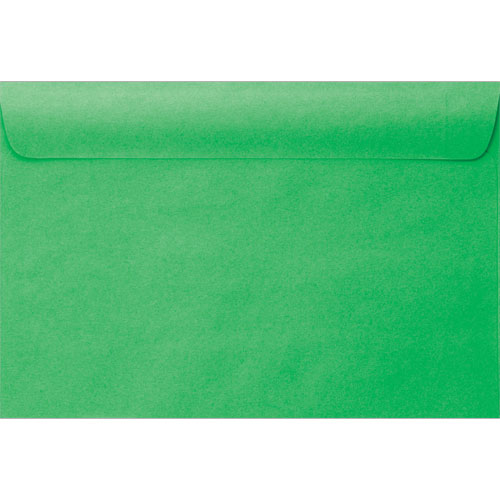 6x9 Bright Green Envelope