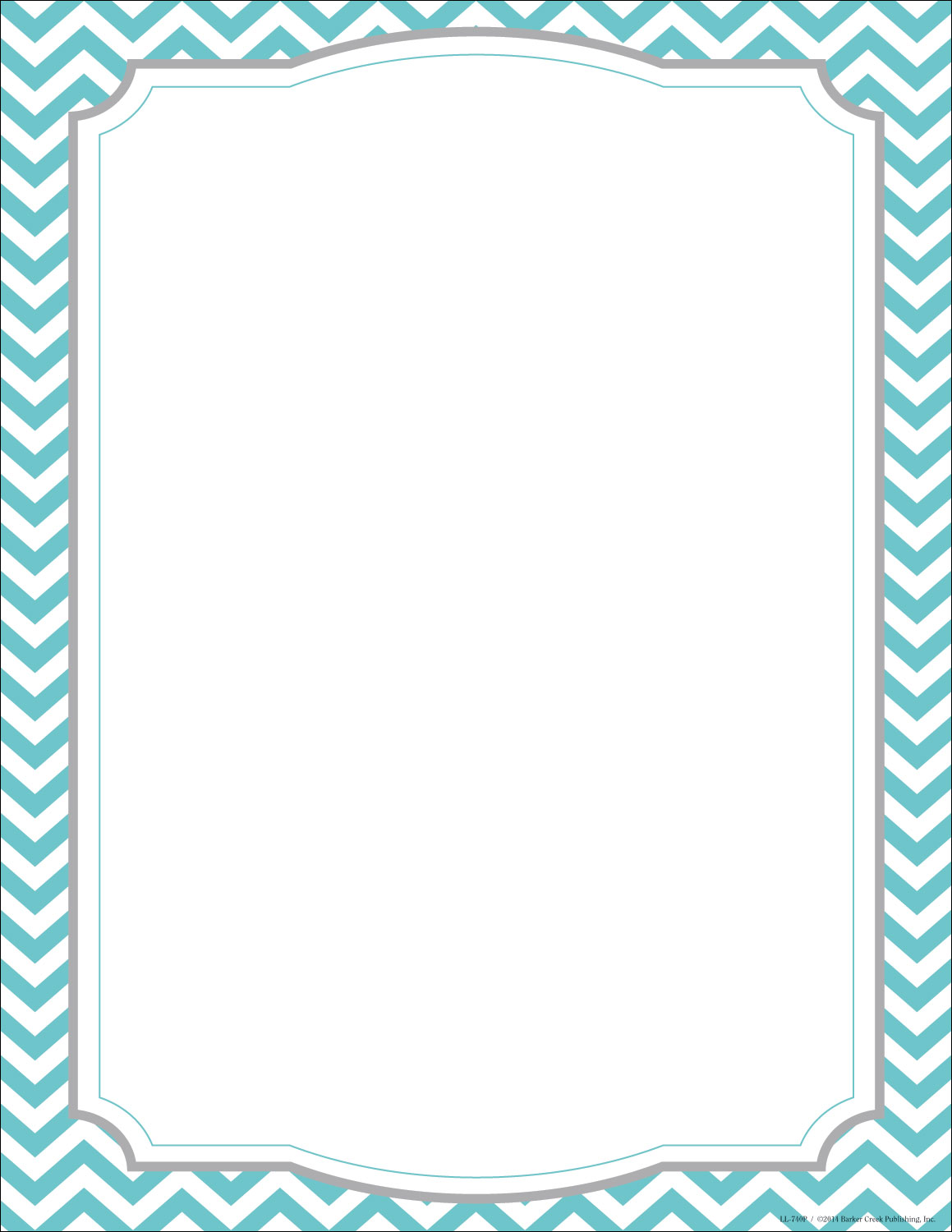 image regarding Chevron Printable Paper known as Turquoise Chevron Letterhead - 50 Rely [DP740] : Designer Papers  attractive printer paper Printable Paper Xmas stationery