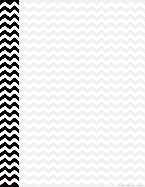image regarding Chevron Printable Paper named Black Chevron Letterhead - 50 Depend [DP739] : Designer Papers attractive printer paper Printable Paper Xmas stationery