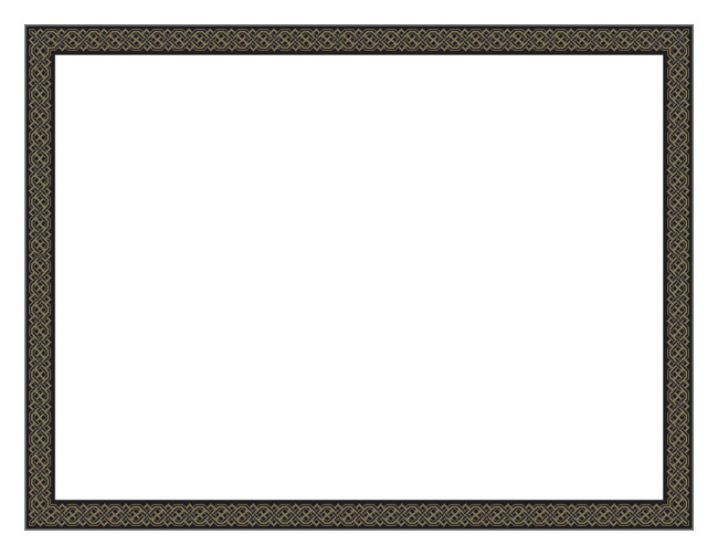 Christmas Certificate Border.Black Diamonds Gold Foil Certificate 12 Count Geo47855 Designer Papers Decorative Printer Paper Printable Paper Christmas Stationery
